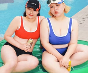 asian girls, bikini, and body image