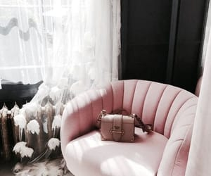 pink, interior, and fashion image