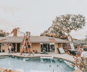 goals, house, and movie set image