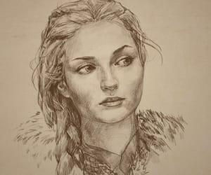 sansa stark and game ot thrones image