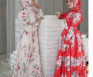 beauty, hijab, and chechen image