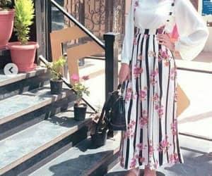 striped skirt image