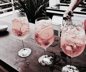 drink, summer, and inspiration image
