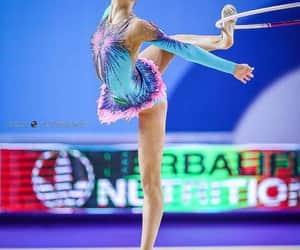 hoop and rhytmic gymnastic image