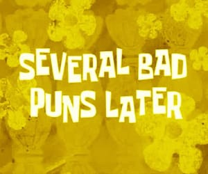 puns, spongebob, and funny image