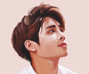 angel, art, and Jonghyun image