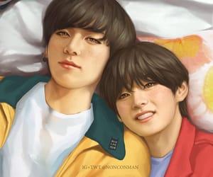 jin, min yoongi, and rapmonster image