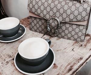 bag, chic, and coffee image