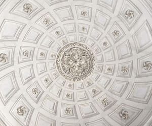 ceiling, gold, and architecture image