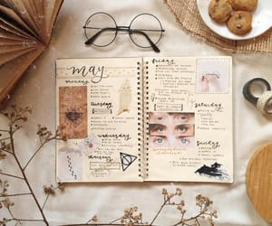 harry potter, bujo, and may image