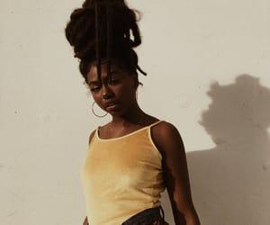melanin, black, and girl image