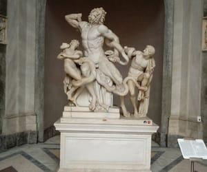 mythology, hellenistic, and statue image