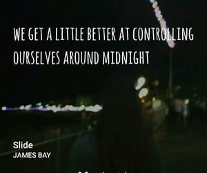 Lyrics, night, and music image