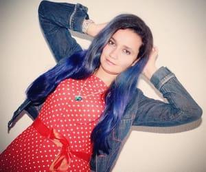 blue, fashion, and photografy image