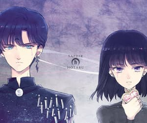 hotaru and sailor saturn image