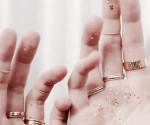 accessories, glitter, and rings image