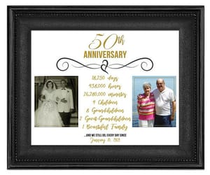 etsy, 50th anniversary, and golden anniversary image