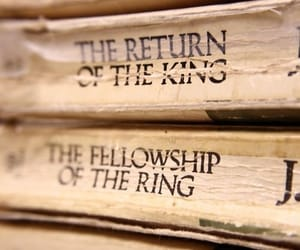 book, gandalf, and lord of the rings image