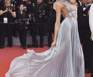 cannes, dress, and festival image