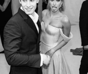 shawn mendes, hailey baldwin, and met gala image
