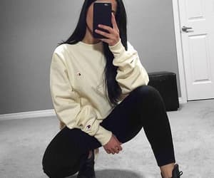 casual, clothes, and comfy image
