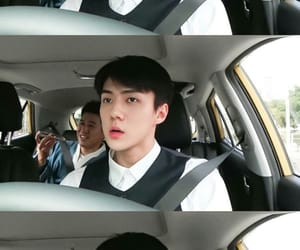 busted, exo, and sehun image
