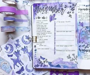 violet and bullet journal image