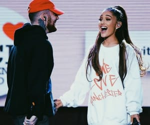 ariana grande, mac miller, and one love manchester image
