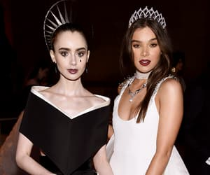 event, lily collins, and met gala image