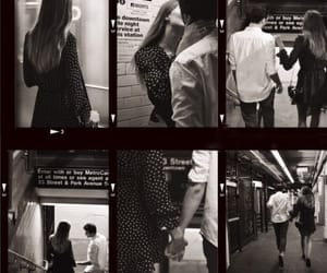 black and white, couples, and xo image