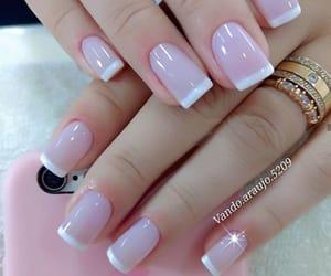 blanco, nails, and lindo image