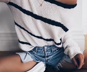 casual, girl, and outfit image