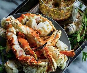 king, seafood, and yummy image
