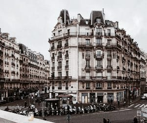 city, paris, and architecture image