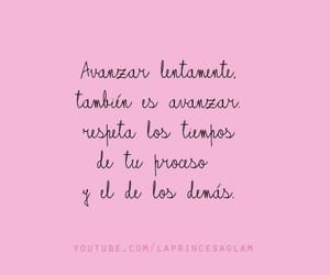 frases, girl, and pink image
