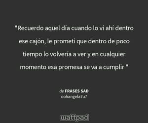 frases, palabras, and sad image