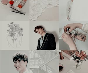 aesthetic, exo, and white image