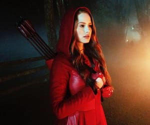 riverdale, red, and madelaine petsch image