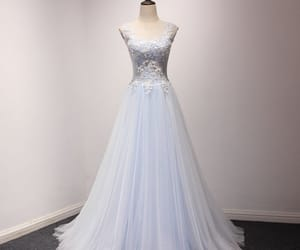 evening dress, tulle, and formal dress image