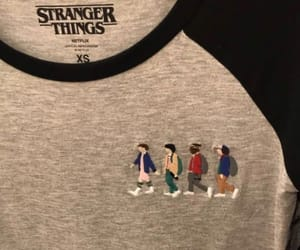 eleven, stranger things, and t-shirt image