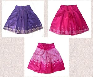 cute skirt, ethnic, and etsy image