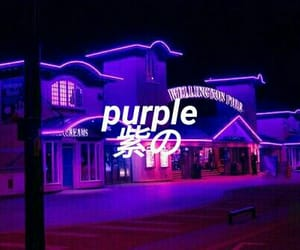 aesthetic, letters, and morado image