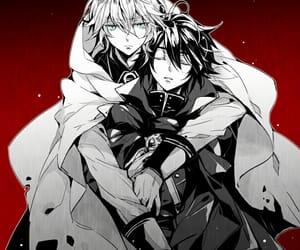 yuichiro, seraph of the end, and mikaela image