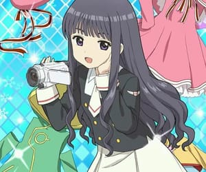 anime cute, tomoyo daidouji, and clear card arc image