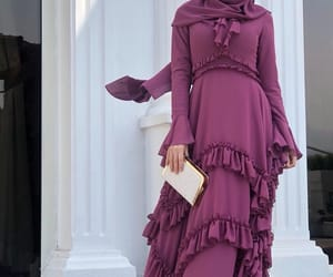 chic, long dress, and classy image