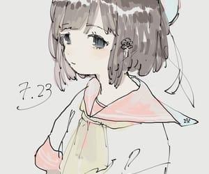 女の子, アイコン, and サムネ image
