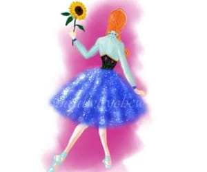 anna, arte, and bailarina image