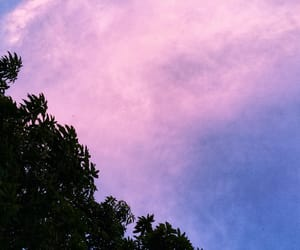 beautiful, pink sky, and sky image