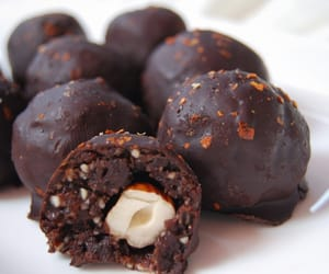 chocolate, food, and healthy eating image
