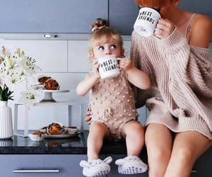 daughter, mother, and cute image
